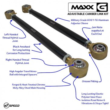 MAXX-G Performance Suspension Adjustable Link Tech Features