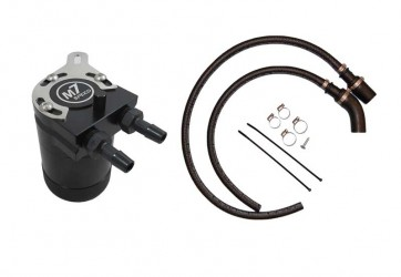 Gen 2 MINI Cooper N18 Oil Catch Can with Hose & Hardware Kit