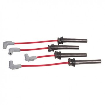 MSD Super Conductor Ignition Wire Set-Red Silicone Jacket
