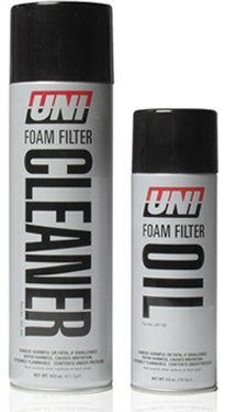 UNI Filter 2 stage cleaning and oil kit