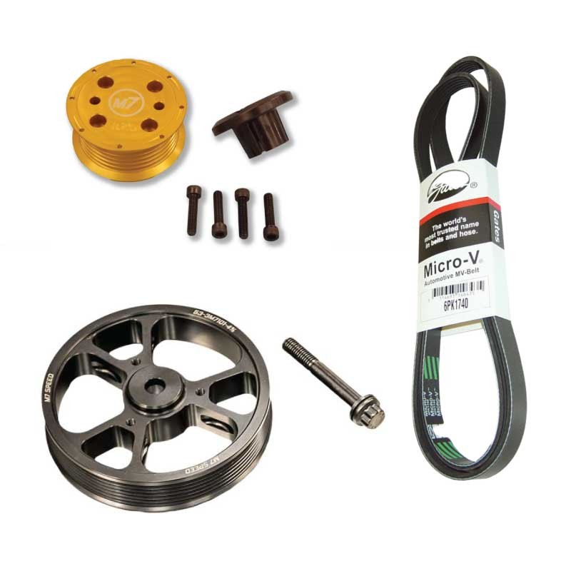 Kavs Lightweight Supercharger Pulley: MINI Cooper Supercharger Overdrive Pulley Kit