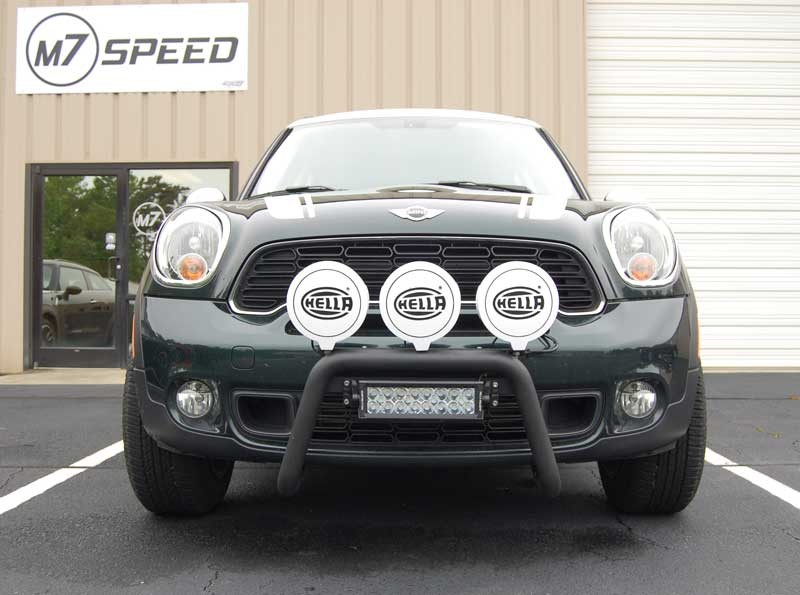 M7 Speed R60 Countryman MINI Cooper Bull Bar-Front View