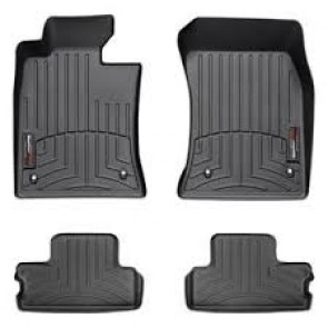 WeatherTech Mats for Gen 2 MINI Cooper-Black