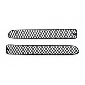M7 Ultimate Rear Grilles - Standard Bumper-Black