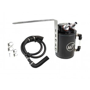 M7 Speed Oil Catch Can Black Aluminum with Bracket & Installation Kit