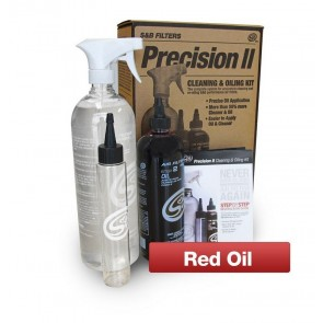MAXX-FLO Filter Cleaning & Oil Kit | RED OIL