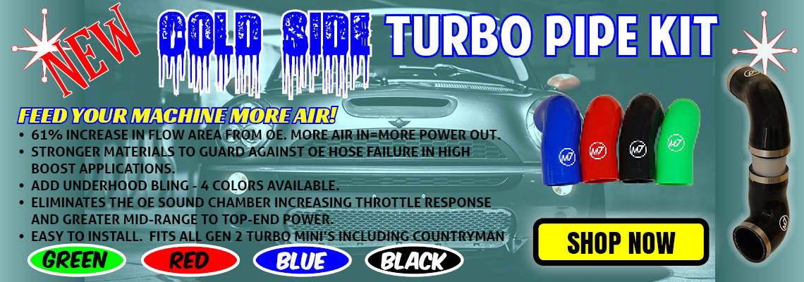 ColdSide Turbo Charge Pipe
