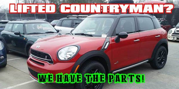 Lifted MINI Countryman