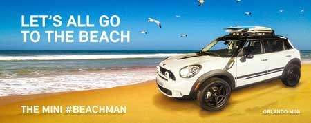 Lifted MINI Cooper Countryman The Beachman_2