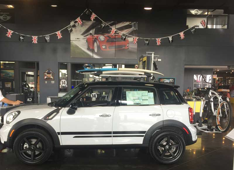 Lifted MINI Cooper Countryman The Beachman