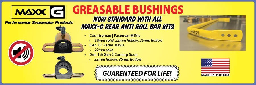 MAXX-G Gearsable Bushings